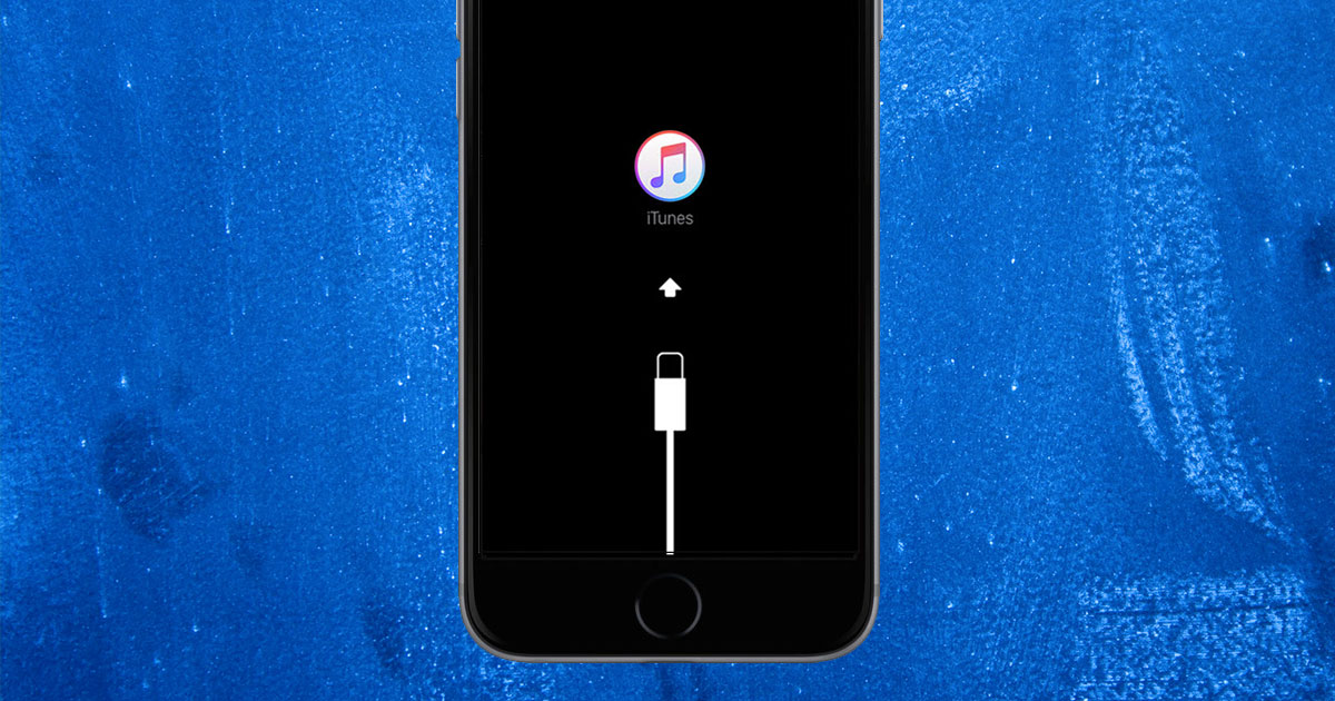 what to do when your ipod says connect to itunes
